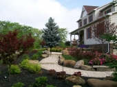 Custom Garden design and installation Dayton Ohio