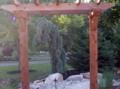 Custom Pergola with Paver Walkway Dayton Ohio