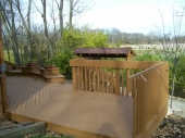 Dayton Ohio Custom Deck Construction