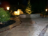 Landscaping with Hardscape and landscape lighting dayton ohio