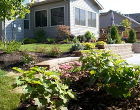 Whispering Creek Landscaping Company Dayton Ohio provides landscape architecture, paver patios, decks, retaining walls