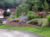 Landscaping with Retaining Wall Dayton Ohio