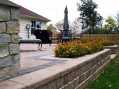 Paver Patio Hardscape Dayton Ohio