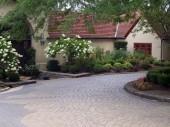 Custom paver driveway installation Dayton Ohio