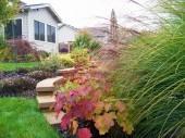 Custom Garden with retaining wall Dayton Ohio