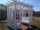 Custom pergola design Dayton Ohio